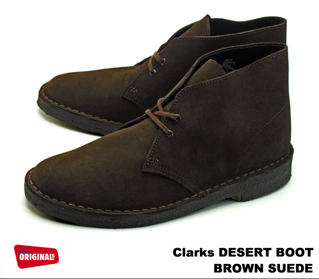3abc343c0e5 Clarks desert boots Clarks DESERT BOOT 26107879 BROWN SUEDE / brown suede