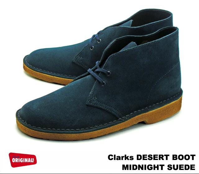Clarks Desert Boot Boot Minuit Désert 2TO935