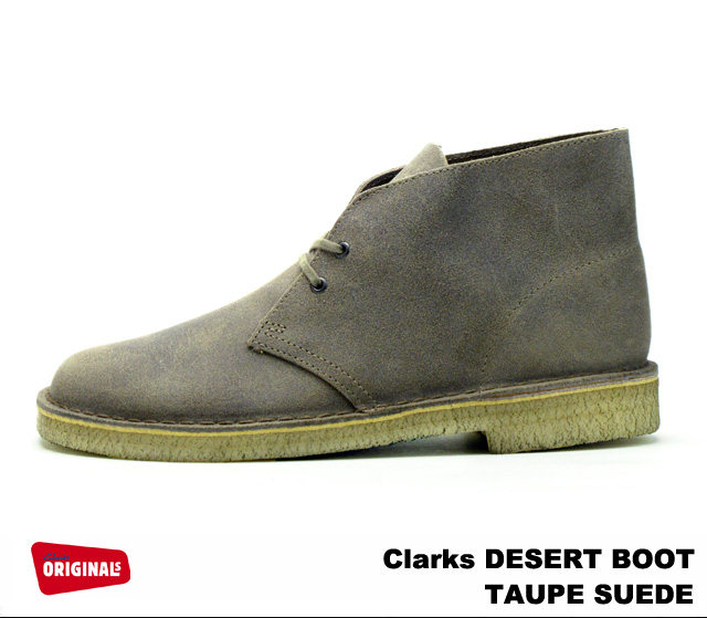 clarks originals cheap desert boot taupe suede, Clarks