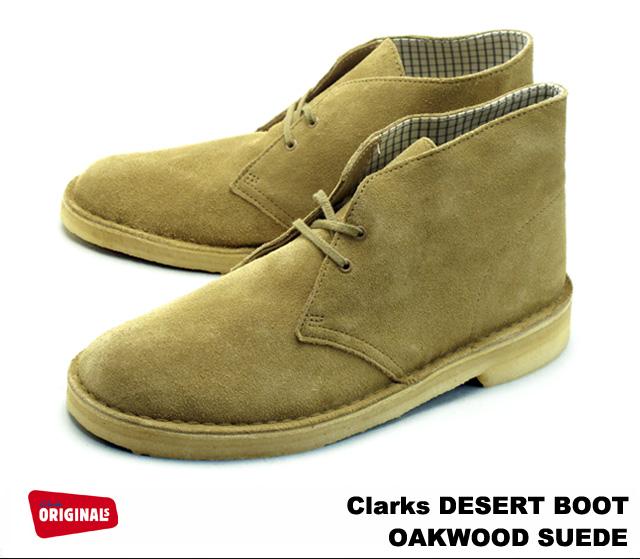 Premium One Clarks Desert Boots 26110058 Oakwood Suede Clarks