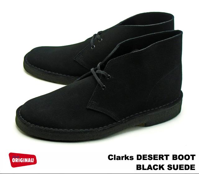 dd946b980 PREMIUM ONE: Clarks desert boots 26107882 BLACK SUEDE, Clarks DESERT ...