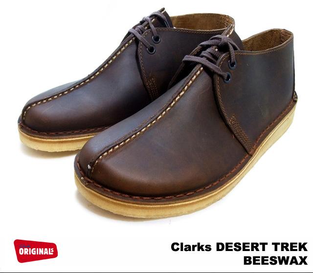 クラークス デザートトレック メンズ ビーズワックス レザー シューズ Clarks DESERT TREK 26113552 BEESWAX US規格