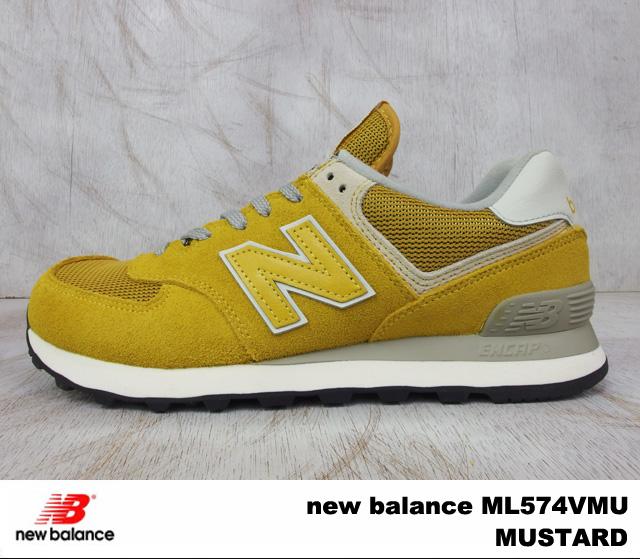 new balance 574 mustard