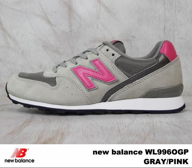 WL996OGP 新的新平衡平衡 WL996 OGP 灰色粉紅色灰色/粉紅色寬度: D