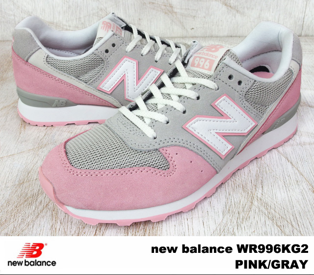 new balance 996 pink and grey