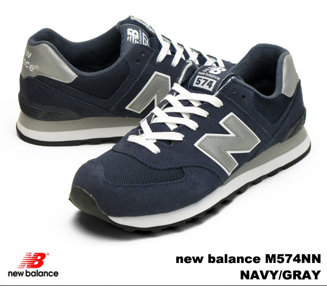 New Balance 574 navy gray men gap Dis sneakers new balance M574 NN  newbalance M574NN NAVY/GRAY