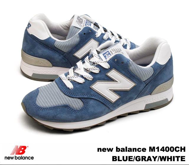 21448267 New balance 1400 blue grey white new balance M1400 CH newbalance M1400CH  BLUE/GRAY/WHITE mens Womens sneakers