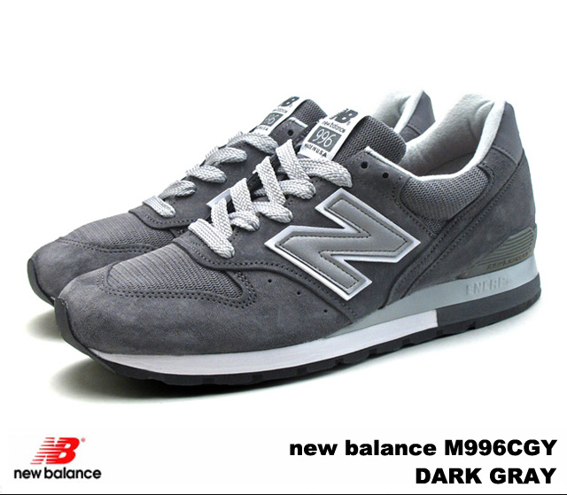 New Balance 996 dark gray new balance M996 CGY newbalance M996CGY DARK GRAY men gap Dis sneakers