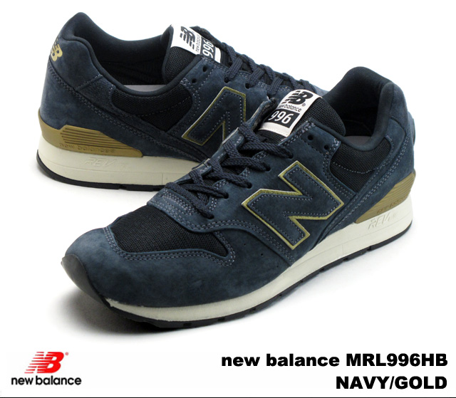 huge selection of 6bf1b a1b66 -new balance MRL996 NAVY GOLD-