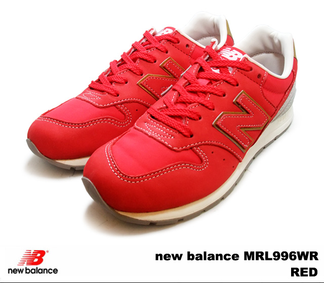 innovative design c061e d54f8 New Balance 996 red new balance MRL996 WR newbalance MRL996WR RED men gap  Dis sneakers