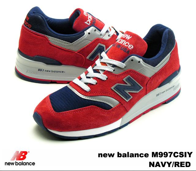 online store 2ece6 8a12e PREMIUM ONE: New Balance 997 navy red new balance M997 CSIY ...