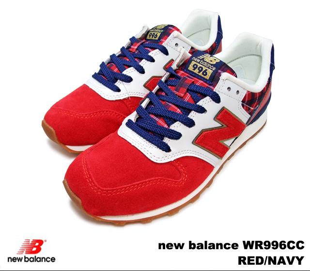 new balance 996 red
