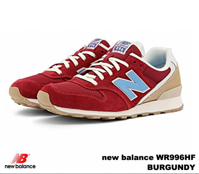 new balance 996 maroon