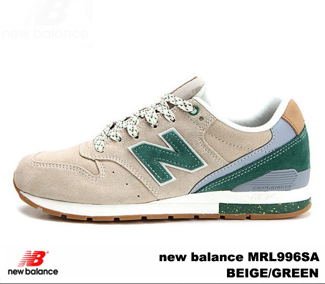 huge discount 52062 0b32e New Balance 996 beige green new balance MRL996 SA newbalance MRL996SA  BEIGE/GREEN men gap Dis sneakers
