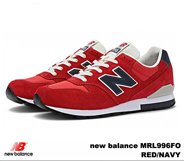buy online 9d627 8f72e PREMIUM ONE: New Balance 996 red navy new balance MRL996 FO ...