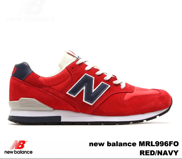 big sale 4a2b1 b93ed New Balance 996 red navy new balance MRL996 FO newbalance MRL996FO RED/NAVY  men gap Dis sneakers