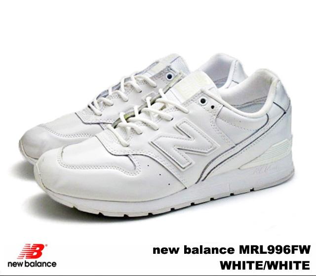 ca5c38f7 PREMIUM ONE: New Balance 996 white new balance MRL996 FW newbalance ...
