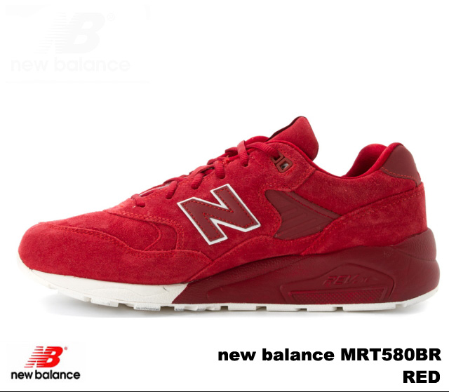 new product efc48 d531f New Balance 580 red new balance MRT580 BR newbalance MRT580BR RED men  sneakers