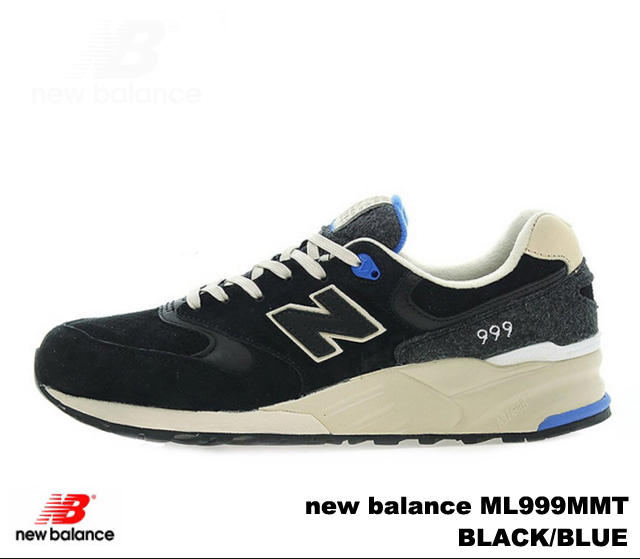 pas mal 7ff07 491a3 New Balance 999 black blue new balance ML999 MMT newbalance ML999 MMT BLACK  BLUE men sneakers