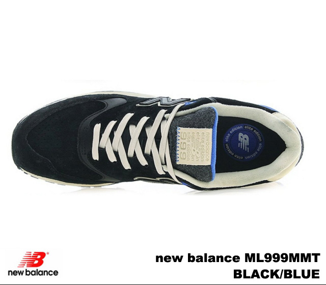New balance 999 black blue new balance ML999 MMT newbalance ML999 MMT BLACK BLUE mens sneakers