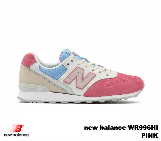 新平衡 996 粉紅新平衡 WR996 HI newbalance WR996HI 粉紅色婦女的運動鞋