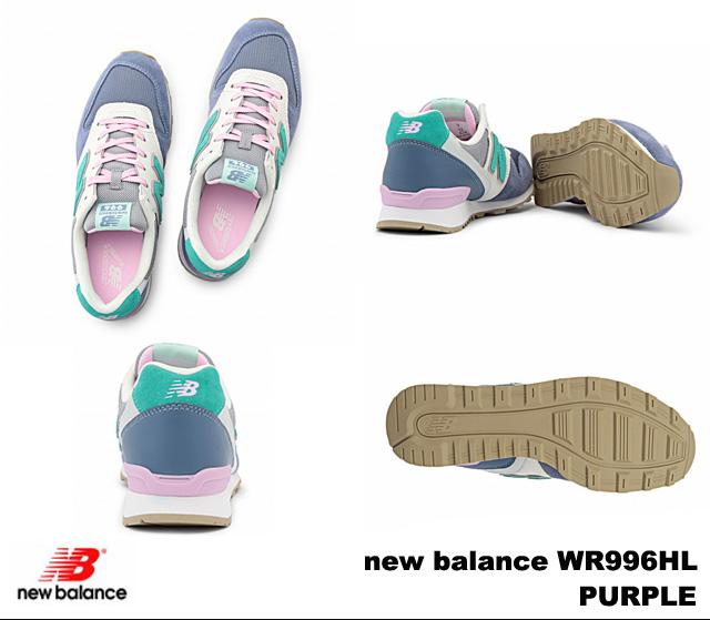 New balance 996 purple new balance WR996 HL newbalance WR996HL PURPLE Womens sneakers