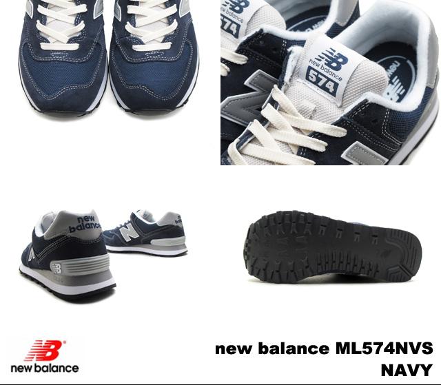 新平衡 574 海军男装女装运动鞋新平衡 ML574 NVS 海军 newbalance ML574NVS