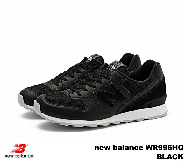 996 Wr996 OneNew Black Sneakers Balance Lady's Premium XPZwuTkiO
