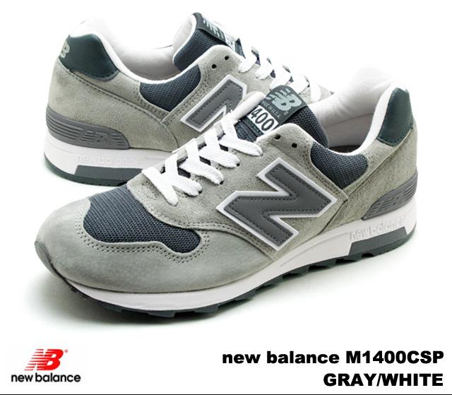 new style 66e96 efd49 New Balance 1400 gray white men gap Dis sneakers new balance M1400 CSP  newbalance M1400CSP GRAY WHITE