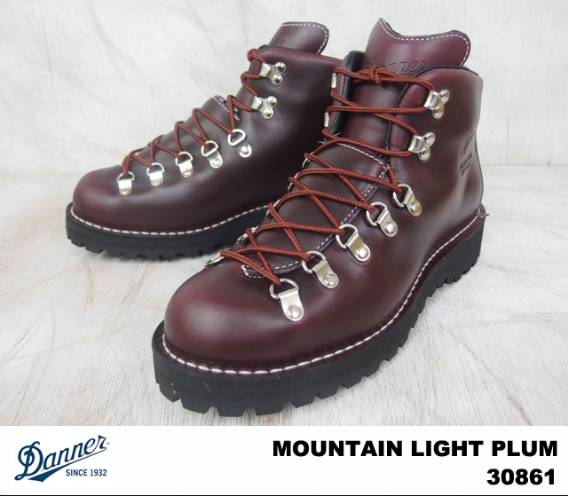 Danner Danner MOUNTAIN LIGHT PLUM 30861 mountain light GORE-TEX Gore-Tex MEN / men's WIDTH:EE