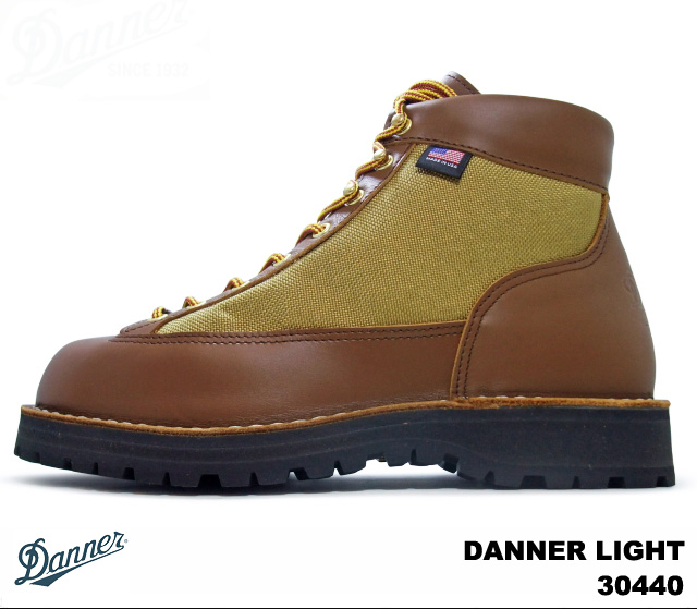 供Danner DANNER LIGHT 30440 GORE-TEX MEN/男性使用的的WIDTH:EE