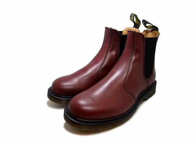 ドクターマーチン サイドゴア チェルシー レディース メンズ ブーツ チェリーレッド Dr.Martens 2976 CHELSEA BOOT 11853600 CHERRY RED