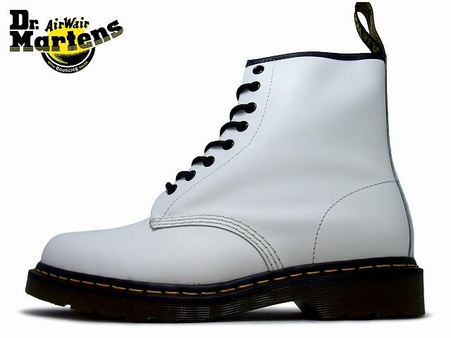 ドクターマーチン 8ホール メンズ ブーツ ホワイト Dr.Martens 1460 8EYE BOOT 11822100 WHITE