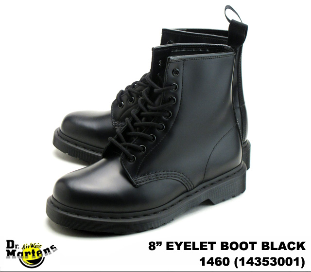 48cbe928f885 PREMIUM ONE  Dr.Martens  Dr. Martens 1460 black SMOOTH LEATHER ...
