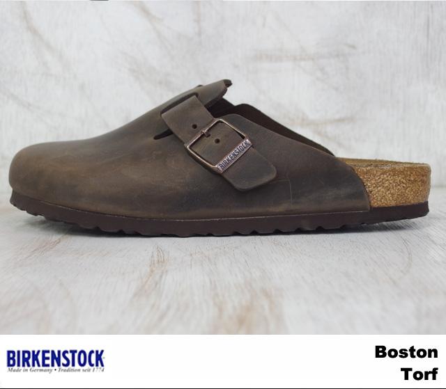 勃肯波士頓男式女式涼鞋松露勃肯波士頓 260341 Torf 寬