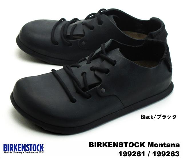 Birkenstock Montana men's women's shoes black Havana BIRKENSTOCK Montana 199261 / 199263 BLACK 199241 / 199243 HABANA wide narrow