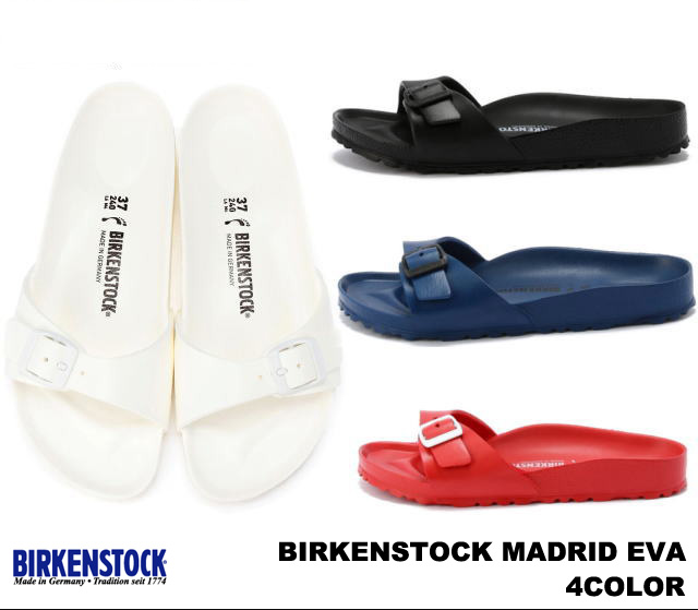 Birkenstock EVA Madrid 128173 blau EVA