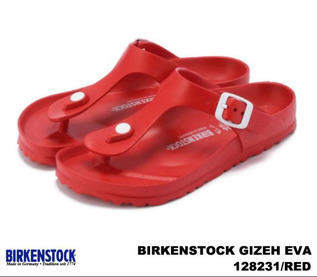 RED / WHITE 128231 / NAVY 128221 and Birkenstock Giza EVA women's men's Sandals black Navy white red BIRKENSTOCK GIZEH EVA 128201 / BLACK 128211 wide
