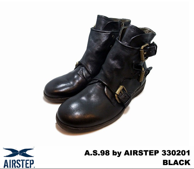sale retailer e0291 1778b A.S.98 by AIRSTEP 330201 NERO (BLACK) Made in Italy / Italy