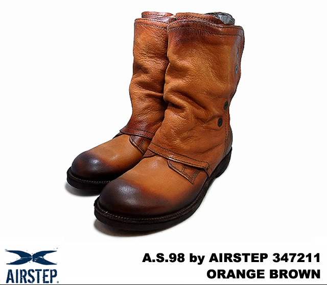 A.S.98 by AIRSTEP 347211 COTTO (ORANGE BROWN)