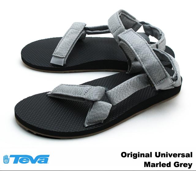 Teva Sandales Universelles D'origine - Gris qu904V