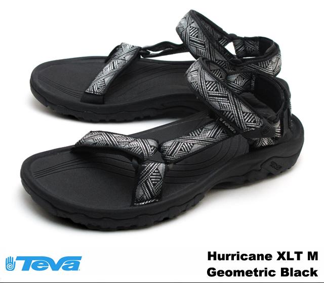 -Men's Hurricane XLT Geometric Black-