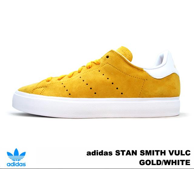 ADIDAS ORIGINAL STAN SMITH VULC m17187 yellow P1Nha1