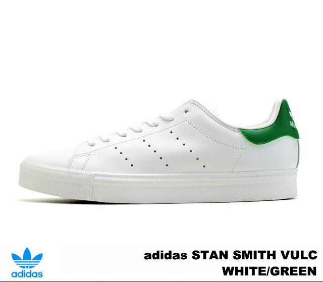 阿迪達斯斯坦史密斯巴薩阿迪達斯斯坦史密斯硫化 S77450 白/綠白 / 綠 02P07Feb16
