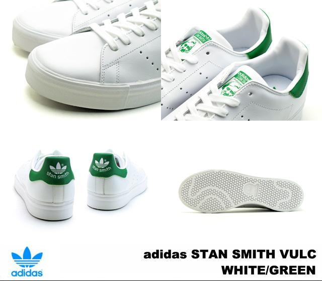 Adidas Stan Smith Barca adidas STAN SMITH VULC S77450 WHITE/GREEN white / green