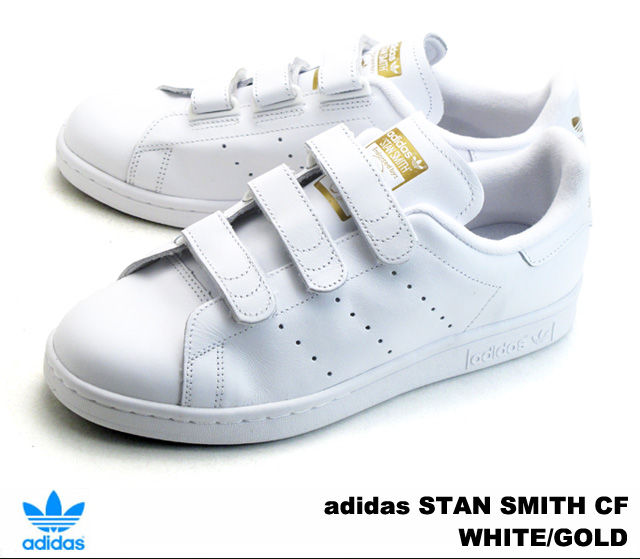 Adidas Stan Smith comfort white gold adidas STAN SMITH CF S75188 WHITE/GOLD mens  Womens