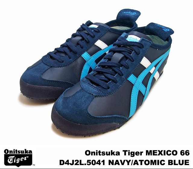 Onitsuka Tiger Mexico 66-Navy & Atomic & Blue