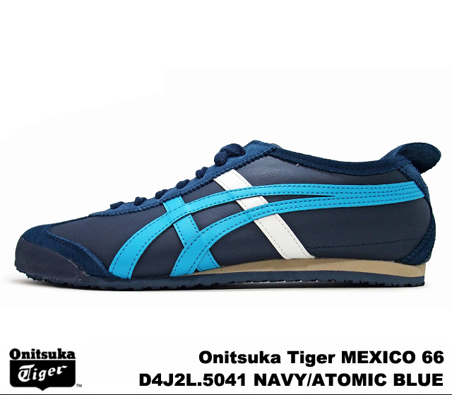 PREMIUM ONE  Onitsuka Tiger Mexico 66 Mexico Navy Blue Atomic ... a8632dc95