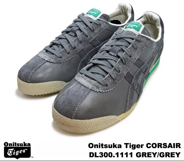 huge discount 20130 4a89e Onitsuka Tiger CORSAIR DL300-1111 GRAY men's women's sneakers, ONITSUKA  Tiger-grey