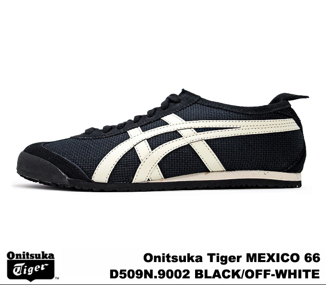 online retailer fd18c fff60 Onitsuka Tiger Mexico 66 Mexico black off white Onitsuka Tiger MEXICO 66 D  509N-9002 BLACK/OFF WHITE mens Womens sneakers